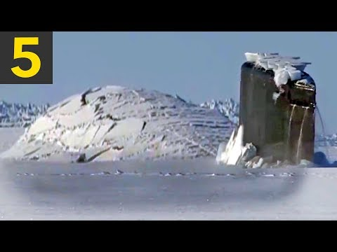 Top 5 Submarine Surfaces Through Ice