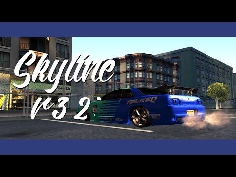 Skyline R32 Gta San Andreas Mod Elegy (Tunable)