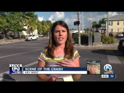 Delray Beach Officer Christine Braswell: Scene of crash