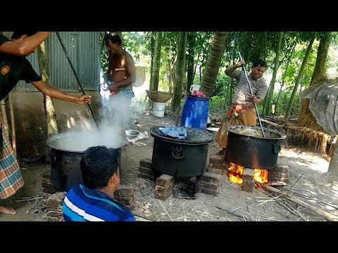 Big Function Food Arrangement | Beef, Chicken & Eggs Cooking | Village Traditional Marriage Ceremony
