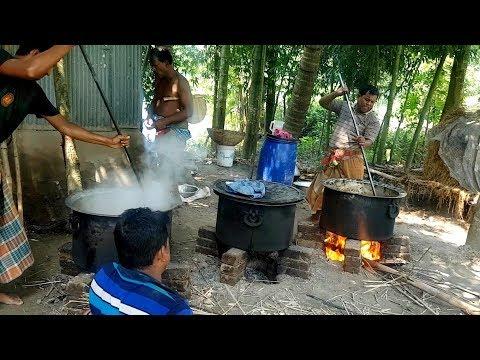 Big Function Food Arrangement | Beef, Chicken & Eggs Cooking | Village Traditional Marriage Ceremony