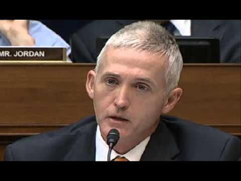 Trey Gowdy questions White House counsel
