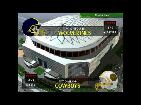 2020 Week 15 - Fiesta Bowl - #3 Michigan vs #2 Wyoming