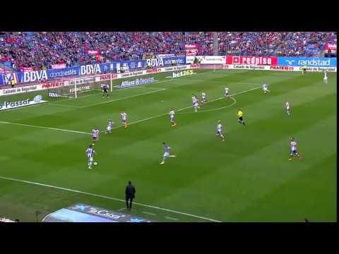 Atletico Madrid 2 : 0 Real Sociedad 7th April, 7 de Abril 2015