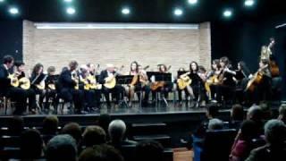 """Intermedio de """"La Boda de Luis Alonso"""" por la Orquesta de Pulso y Púa """"Isaac Albéniz"""""""