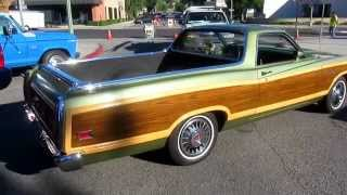 1971 Ford Ranchero Squire at Cruisin