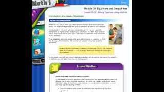 Школа в США: урок онлайн, математика 6 класс