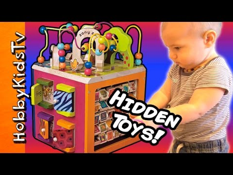 B Toys Zany ZOO Activity Set + HIDDEN Surprise Toys! Toy Review w/ HobbyGator by HobbyKidsTV
