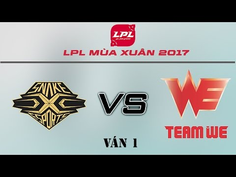 [02.03.2017] SNAKE vs WE [LPL Xuân 2017][Ván 1]