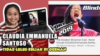 LAGI VIRAL, INI SOSOK CLAUDIA EMMANUELA, THE VOICE OF GERMANY - PODCASTNYA GRITTE