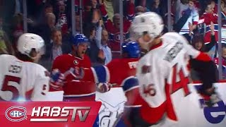 Mitchell marque son 1er but avec les Canadiens / Mitchell scores Habs' first goal of 2015 playoffs