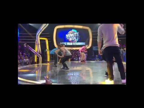 Minute to win it with Anne Curtis