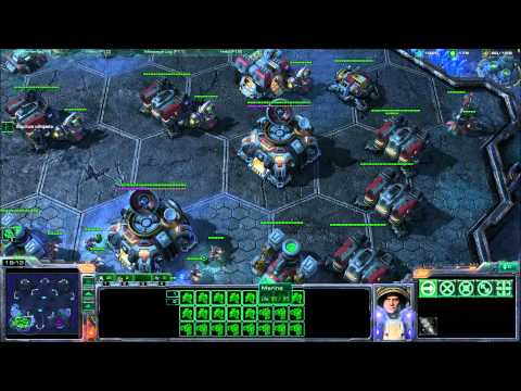 Terran Tips and Tricks - Starcraft 2 - Part 1 of 2