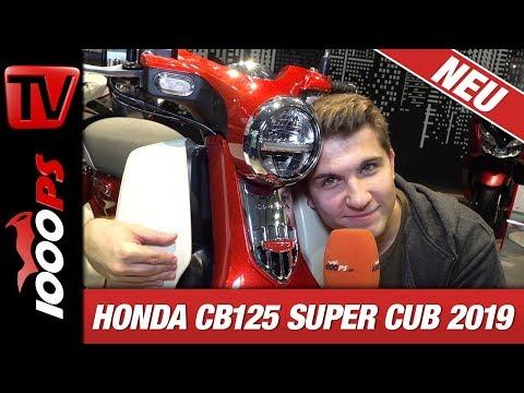 Honda CB125 Super Cub 2019 - Das Rekordbike kommt nach Europa!