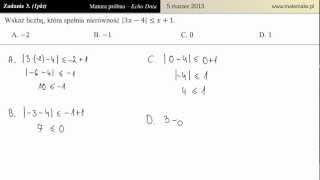 Zadanie 3 - Matura próbna 05.03.2013 [Echo Dnia]