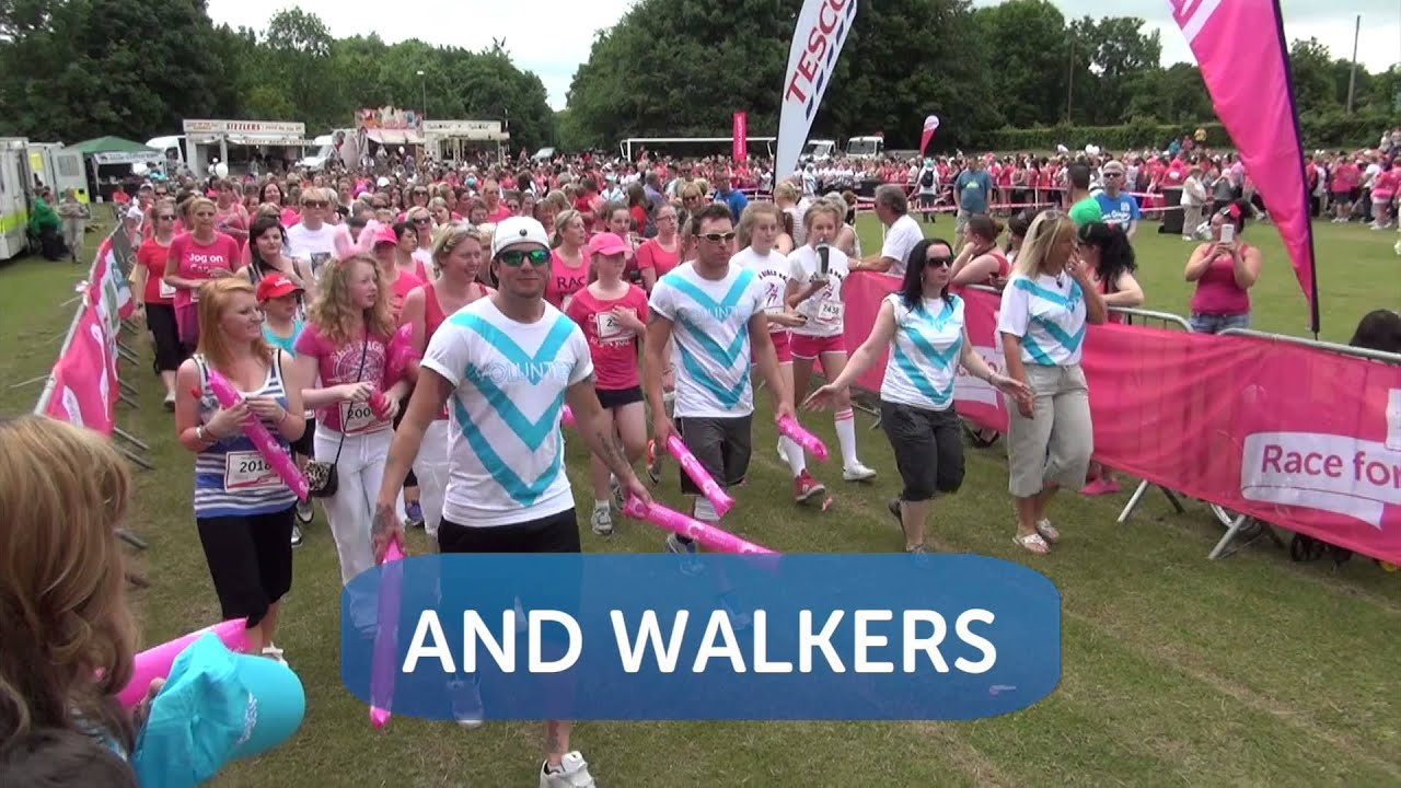 For Life Join Our Volunteer Army Race For Life 2015 Youtube