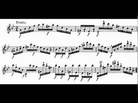 Paganini Caprices No.16 for Flute by Patrick Gallois