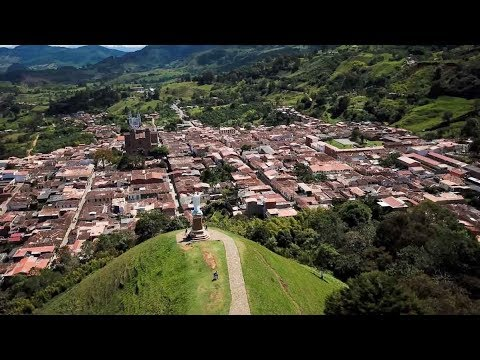 Colombia Travel: Jericó Colombia a historical town near Medellin