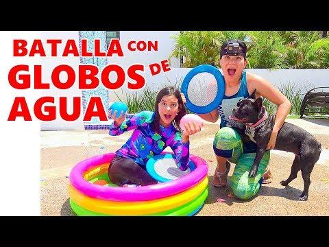 BATALLA CON GLOBOS DE AGUA | AnaNana Toys