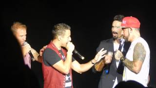 Backstreet Boys Cruise 2014 - Concert B - Just to Be Close (acapella) / Hot Hot Hot