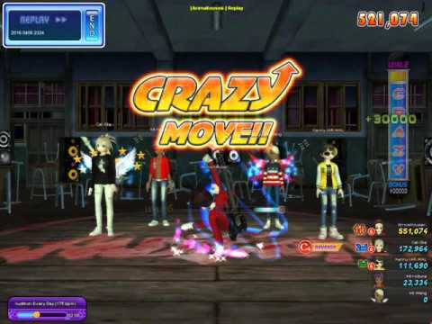 Audition Ayodance Indonesia Crazy Dance-8 , Reverse Chance 6, Every Day 175 Bpm Miss 4 Score 1,2 jt