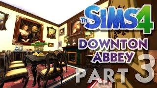 The Sims 4 House Building: Downton Abbey / Highclere Castle - Part 3 - (Real Time)