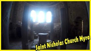 St. Nicholas Center. Myra in Lycia: Church of St. Nicholas 2018. Travel Blog to Turkey 2018.