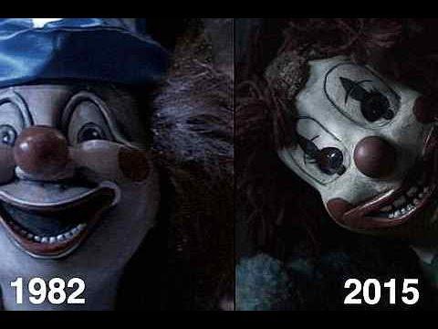 Poltergeist Clown 1982 Vs Poltergeist Clown 2015 Youtube