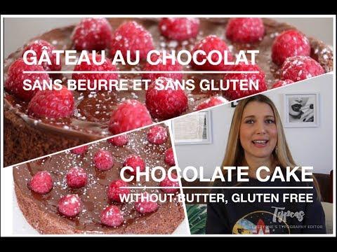 recette-gÂteau-au-chocolat-sans-beurre-et-sans-gluten.-chocolate-cake-without-butter,-gluten-free