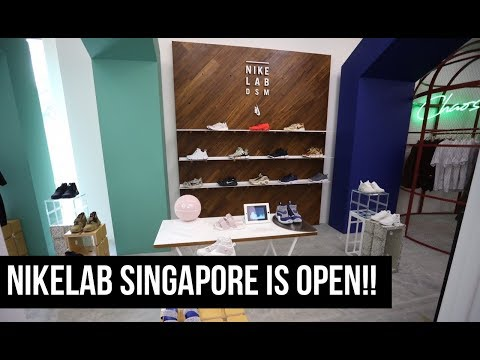 THE SNKRS - NIKELAB SINGAPORE IS OPEN! (Bahasa Indonesia)