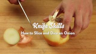 Knife Skills: How t๐ Slice and Dice an Onion