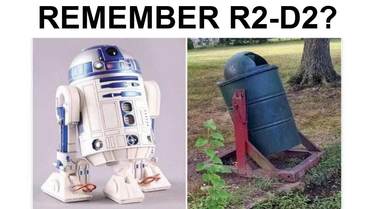Dankest Memes Ever. Remember R2-D2? This is him now!