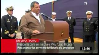PALABRAS DEL MINISTRO DE DEFENSA ACERCA DE LA MARCHA EL PIAS