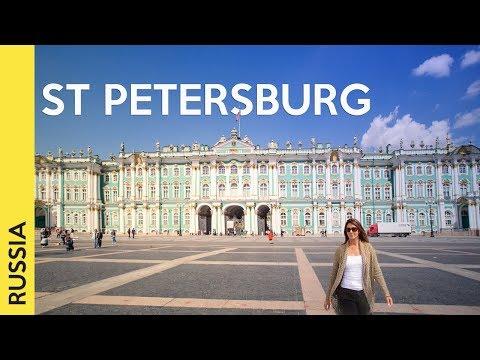 ST PETERSBOURG, RUSSIE tournée: les attractions les plus célèbres (Vlog 2) thumbnail