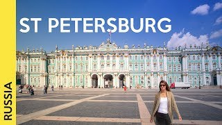 St Petersburg, Russia Tour: The Most Famous Attractions  Vlog 2
