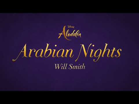 "Will Smith - Arabian Nights (2019) (From ""Aladdin"")(Lyrics)"