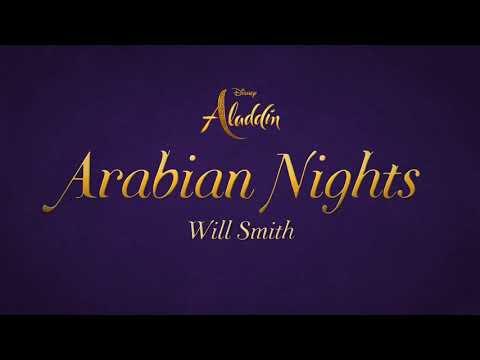 "Will Smith - Arabian Nights (2019) (From ""Aladdin"")(Lyrics)"