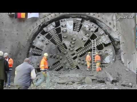 Durchschlag am Kaiser-Wilhelm-Tunnel