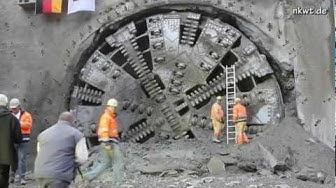 Durchschlag am Kaiser-Wilhelm-Tunnel in Cochem auf nkwt.de