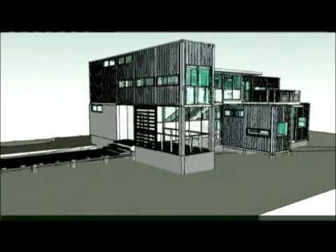 Granny flats modular prefabricated container home t for Prefab granny unit california