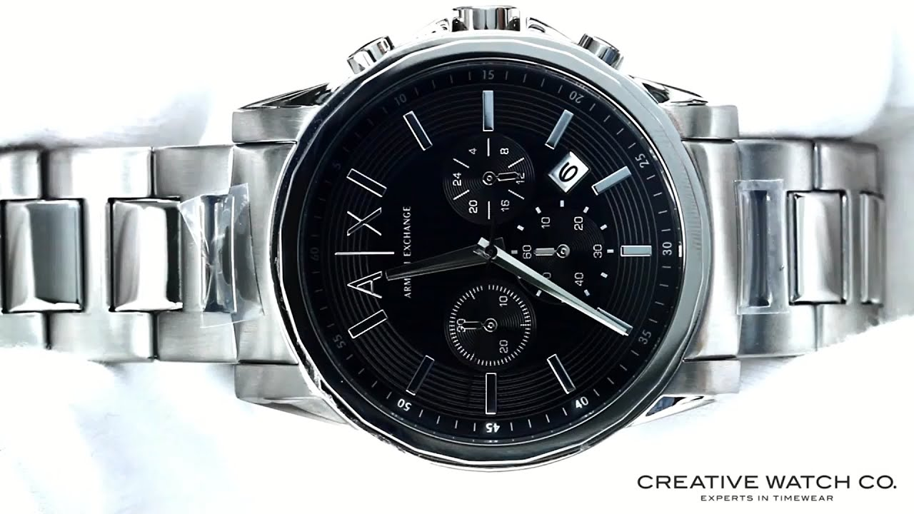 a5d5f4db9f88 Hands On With The Men s Armani Exchange Watch AX2084 - YouTube