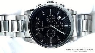 Hands On With The Men's Armani Exchange Watch AX2084