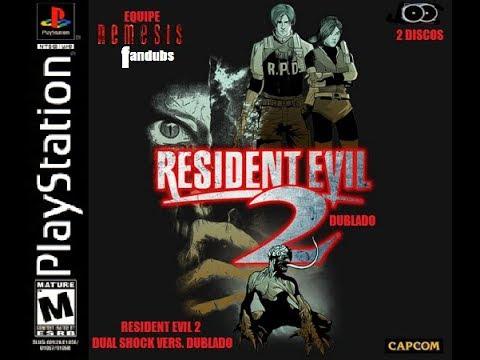 Resident Evil 2 Claire A.Leon B DUBLADO. LIVE!