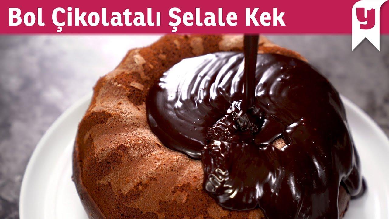 Bol Çikolatalı Şelale Kek Tarifi - Tatlı Tarifleri #AcıktırBeni