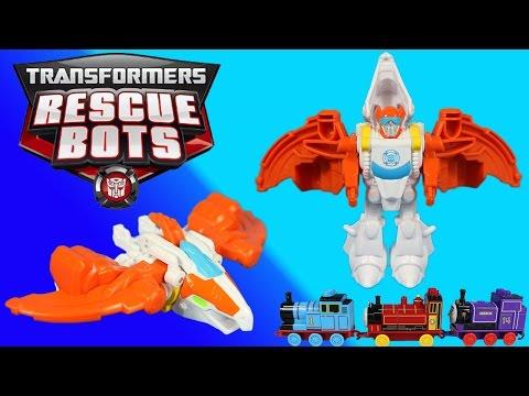 Transformers Rescue Bots Blades transforms...