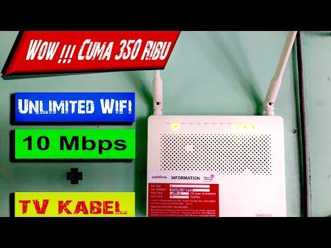 Paket Murah Indihome 2019 - Dapat Wifi 10 Mbps + Channel Tv - Paket Wifi Youtuber