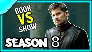 What happens to Jaime Lannister and Brienne in the Books | Game of Thrones Season 8 Predictions