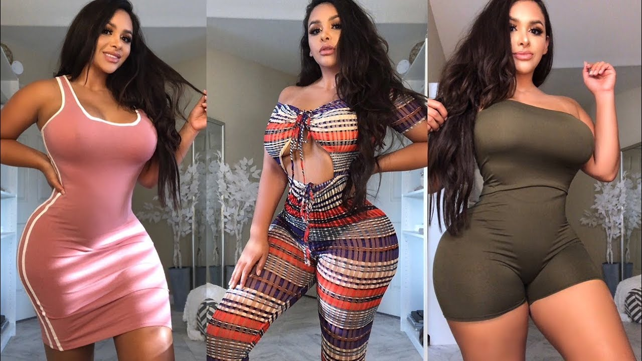 aae49587b180 MY BIGGEST TRY ON HAUL EVER WITH FASHION NOVA CURVE - YouTube