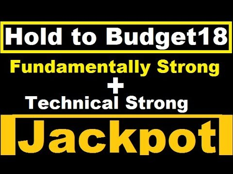 Just hold to Budget18 || multibagger penny stock || best stock for 2018