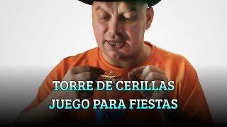 TORRE DE CERILLAS JUEGO PARA FIESTA DE FIN DE AÑO
